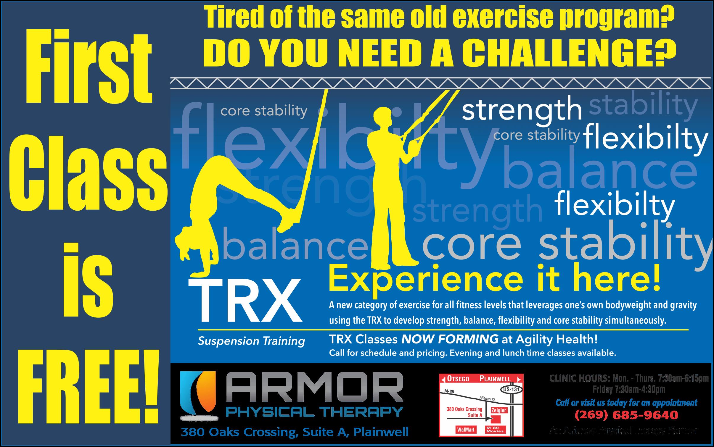 armor pt TRX class TRX Classes